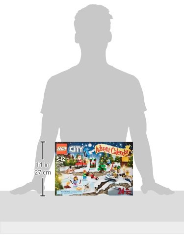 LEGO City Town 60099 Advent Calendar Building Kit (Discontinued by manufacturer)