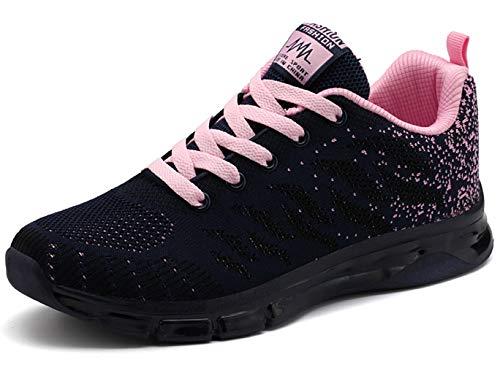 TSIODFO Women s Sport Running Shoes mesh Breathable Lightweight Trail Youth Girls Tennis Sneakers