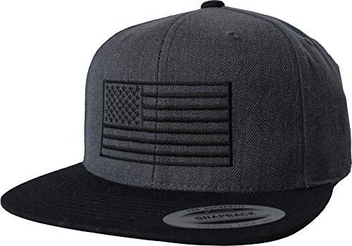 Cap: USA Flagge - United States Amerika Fahne - Flexfit Urban Streetwear Basecap - Geschenk-e für Männer Mann Frau-en - Baseball-cap Mütze Kappe - Biker Army US Stars Stripes