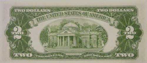 1953-A $2 Bill -- United States Note --Almost Uncirculated