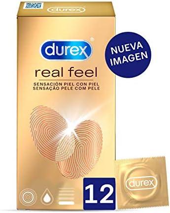 Durex Preservativos Sensitivos Real Feel Sin