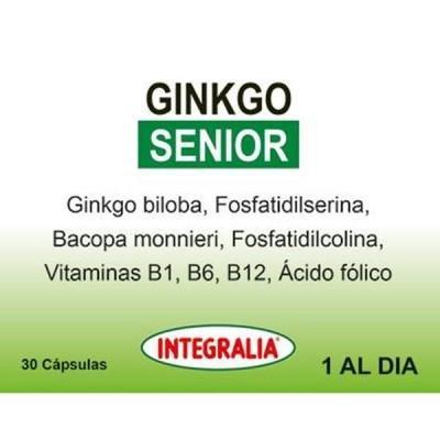 INTEGRALIA Ginkgo Senior, 30 cápsulas