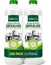 Ontkalker voor volautomatische koffiemachine en koffiezetapparaat, 2 x 750 ml, compatibel met alle fabrikanten