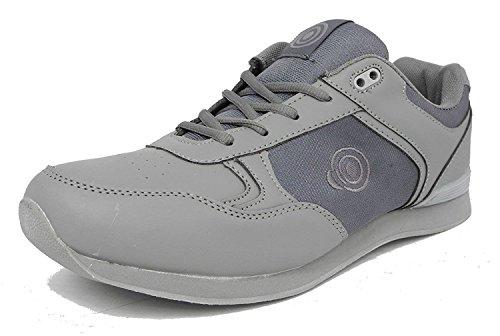 Dek Drive y Jack zapatos de bolos para hombre Grey - Lace up