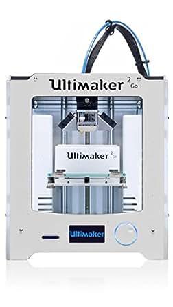 Ultimaker 2 GO - Impresora 3D (FDM, 300 mm/s, 2.85-3 mm), color plateado