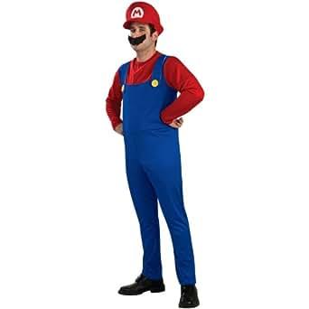Mario Costume - Large - Chest Size 44-46