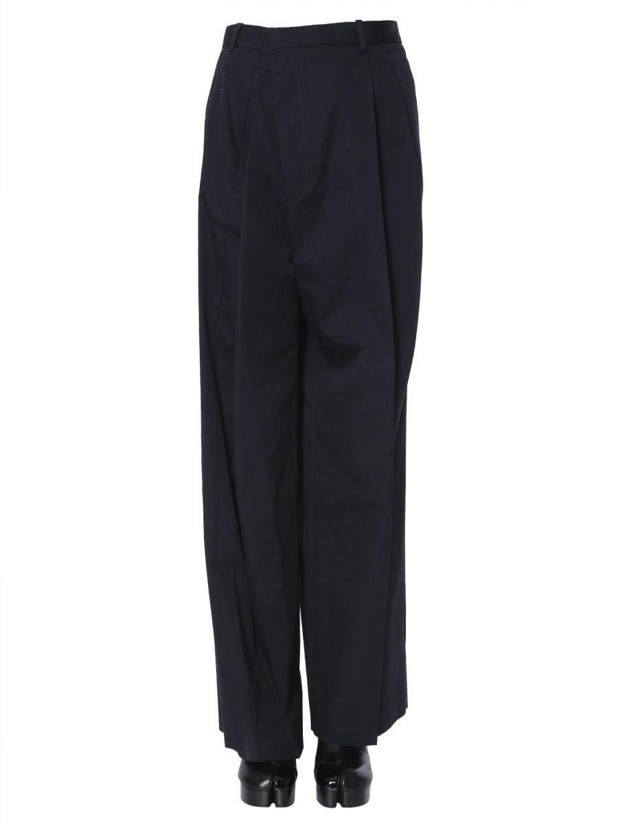 Maison Margiela Women's S51KA0434S49214511 bluee Cotton Pants