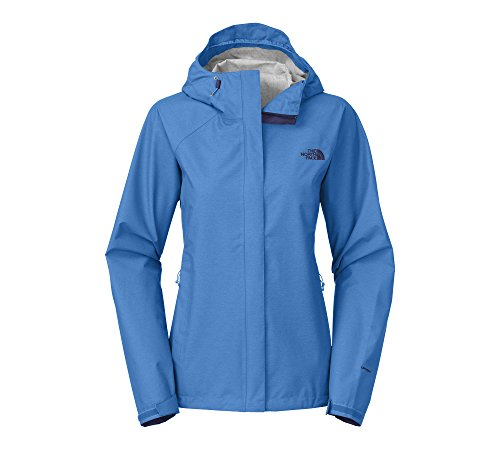 The North Face Womens Venture Jacket (X-small, Clear Lake Blue Heather) (North Face Resolve Jacket Womens)
