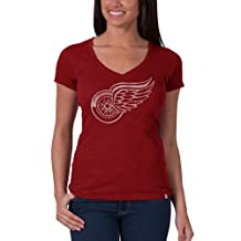 NHL '47 Brand Women's V-Neck Scrum Tee