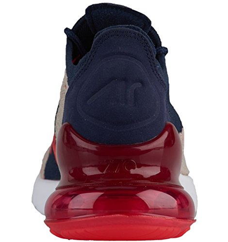 Chaussures Navy NIKE Moon Femme 270 Air Orbit College Max Gymnastique Multicolore 200 de Particle Red Flyknit wIrIF4xq6