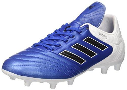 adidas Copa 17.3 FG Mens Football Boots Soccer Cleats (UK 9 US 9.5 EU 43 1/3, Blue Black White BA9717)