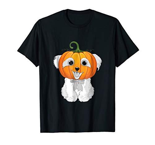 West Highland White Terrier Dog Pumpkin Halloween Costume -