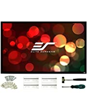 Elite Screens ezFrame 2 Series, 100-inch Diagonal 16:9, Fixed Frame Home Theater Projection Screen, Model: R100H2