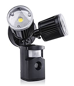 SleekLighting 14W LED Security Sensor Motion Twin Light ...
