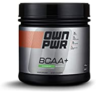 OWN PWR BCAA+ Powder, Watermelon, 30 Servings, Micronized Branched Chain Amino Acids with Glutamine, Electrolytes & More