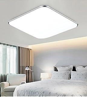 Sailun 24w Kaltweiß Ultraslim Led Deckenleuchte Modern Deckenlampe ... Deckenlampen Wohnzimmer Modern