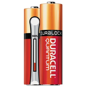 Duracell Quantum Alkaline Batteries with Duralock Power Preserve Technology, AA, 24/Ct by Duracell