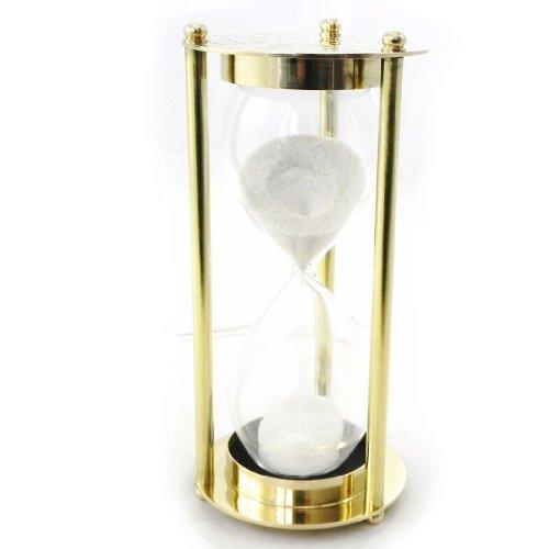 Les Trésors De Lily [I6583] - Hourglass 'Design' brass.
