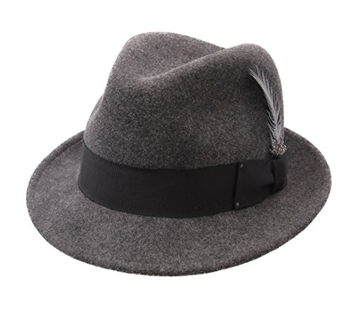 Tino Noir Hombre Hollywood Trilby Bailey Sombrero Of mix wI4qIYX