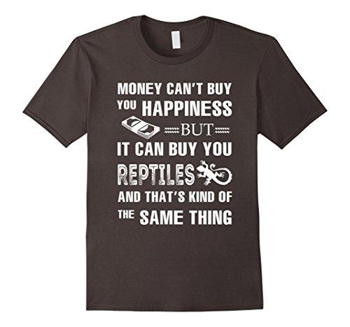 Mens Money can buy you Reptiles T Shirt XL Asphalt
