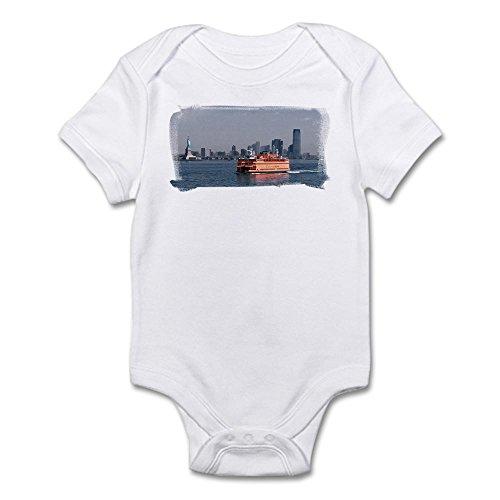 CafePress Staten Island Ferry Infant Bodysuit - Cute Infant Bodysuit Baby - Staten Boutiques Island