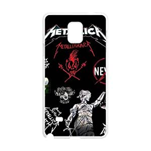 Metallica Samsung Galaxy Note 4 Cell Phone Case White MSY165965AEW