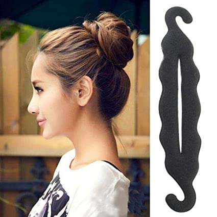 Deruida Hair Bun Maker Magic Bun Maker Cabello grueso Sujetador de pelo Clips de esponja Estilismo