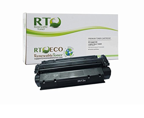 - Renewable Toner Compatible Toner Cartridge High Yield Replacement for HP 13X Q2613X for Laserjet 1300