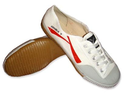 Y Kung Fu Blanches Chaussures Double Uqxw1dAAO