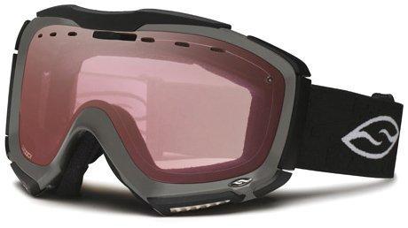 - Smith Optics Prodigy Spherical Series Snow Goggles (Graphite, Platinum Mirror)