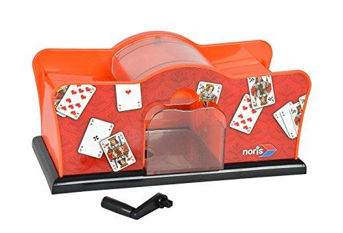 Noris - 615-4620 - Jeux de Société Allemand - Mélangeur de Cartes Automatique