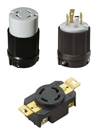 ocsparts l14 30pcr nema l14 30 plug connector and. Black Bedroom Furniture Sets. Home Design Ideas