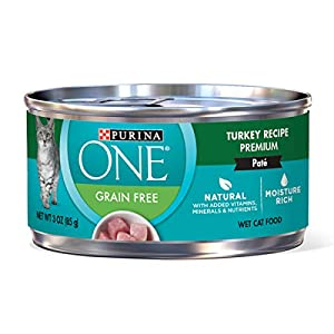 8. Purina ONE Natural Adult Canned Wet Cat Food