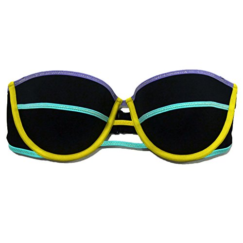 Victoria's Secret The Flirt Bandeau Swim Top (34C, Black)