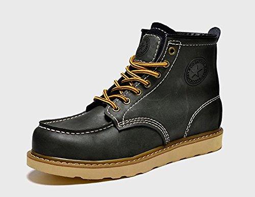 Les hommes de la mode d¨¦sert bottes hiver doublure en coton classique chaussure lacet , 41
