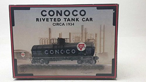 K-Line 639104 1994 Collector's Series, 1934 Conoco O Gauge Rivited Train Tank Car Bank ()
