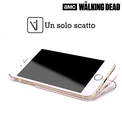 Officiel AMC The Walking Dead Mort À L'Intérieur Typographie Étui Coque D'Arrière Rigide Pour Apple iPhone 6 / 6s