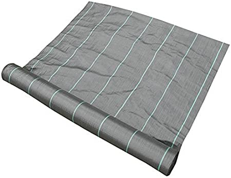 6ft150ft Garden Weed Barrier Landscape Weed Control Membrane Fabric Ground Cover Barrier Block Mat 6ft50ft 6ft100ft 6ft150ft 6ft200ft 6ft250ft 6ft300ft