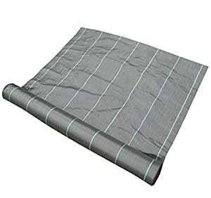 Synturfmats Weed Control Fabric - Heavy Duty Weed Barrier Landscape Fabric Membrane Ground Cover, UV Resistant (6.5'x164')
