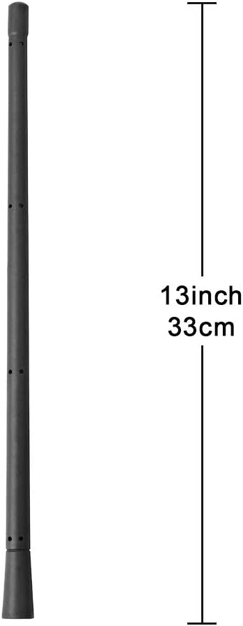 KSaAuto 13 Inch Antenna Fits for Ford F-150 /& Dodge Ram 1500 2009-2020 Rubber Antenna Mast Replacement Designed for Optimized Car Radio FM//AM Reception Compatible with Ford F150//Dodge Ram 1500