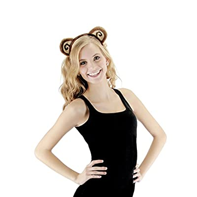 elope Monkey Ears Costume Headband and Tail Kit for Kids: Clothing