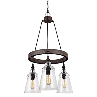 Feiss Three Light Chandelier F3168/3DWI