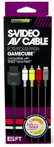 Komodo Nintendo Gamecube AV Audio / Video/ SVideo Cable ()