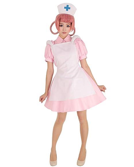 Amazon.com: Cosplay.fm - Disfraz de enfermera con sombrero ...
