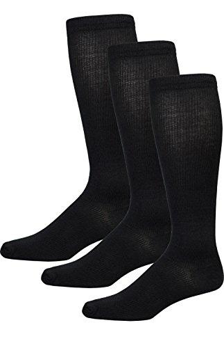 pureCare® vibe! Microfiber Cotton Blend Graduated Compression Sock - 3 Pair Pack (6-12) (8 Pair Appliance)