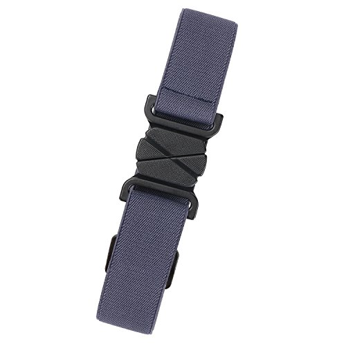 (Navy Blue Women Jeans Belt Elastic Waist Belt for Dress, Plastic Belt Invisible Flat)