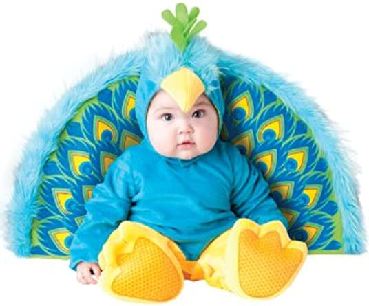 Brand New Precious Peacock Infant//Toddler Halloween Costume
