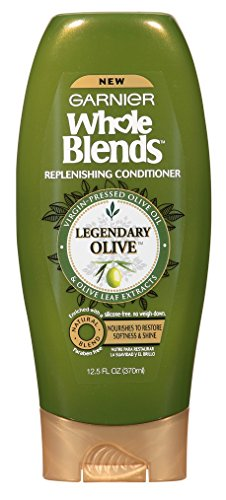 2 X Garnier Whole Blends Legendary Olive Replenishing Shampo