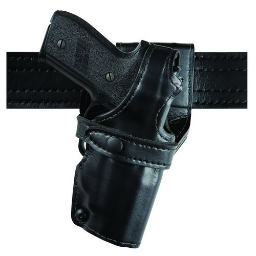 Safariland 0705 Level III 1.5-Inch Drop Retention Duty Holster, Low Ride, Black, Basketweave Right Hand, (Safariland 0705 Duty Holster)