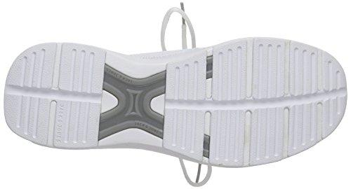 JACK & JONES Jjinvictus Kurim Finemold Sneaker - Zapatillas Hombre Weiß (Bright White)